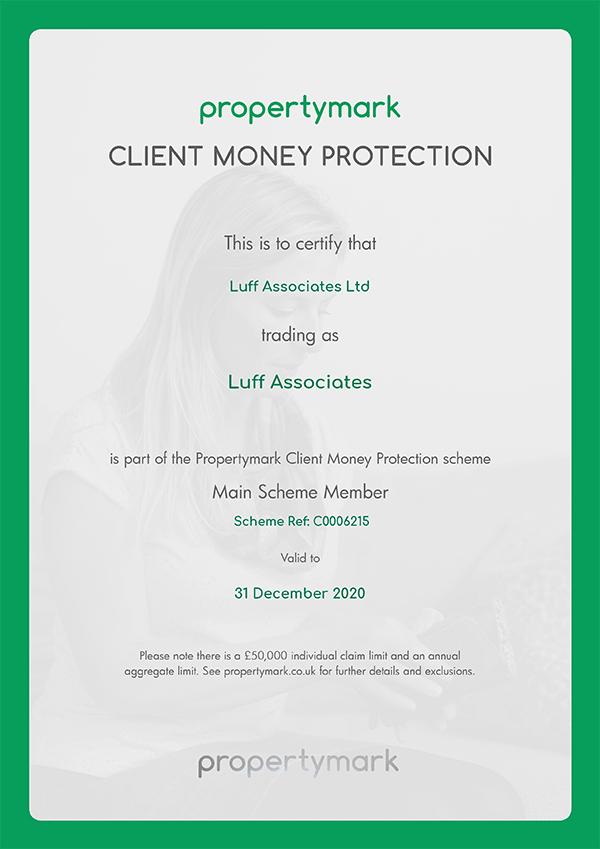 propertymark - Client Money Protection